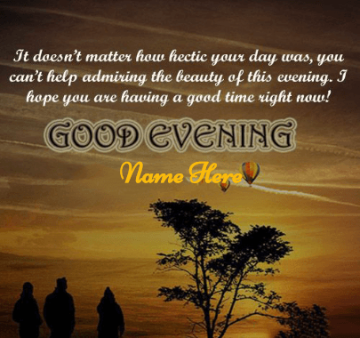 Good Evening Quote