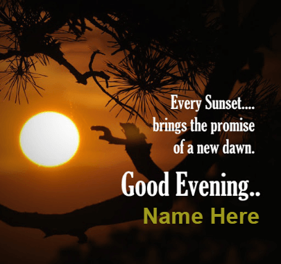 Great Evening Sunset Quotes