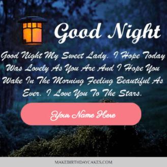 good night love