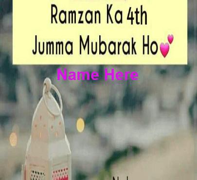 4th jumma Mubarak of Ramadan