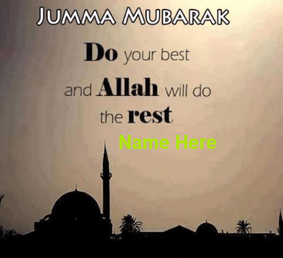 jumma Blessings