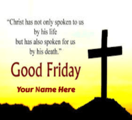 good friday image with wishes