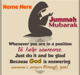 jumma Mubarak Pray for everyone