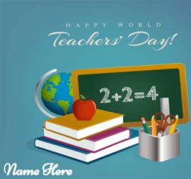 Happy World Teacher Day