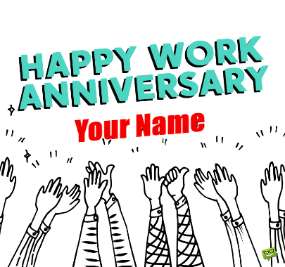 Work Anniversary To All Employs