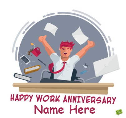 Work Anniversary for Employs