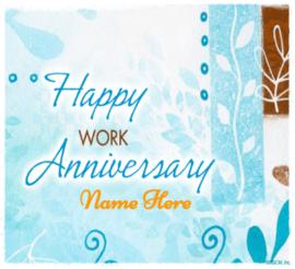Work Anniversary Wish