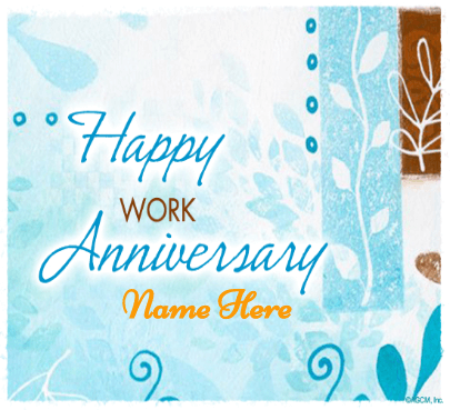 Work Anniversary Wishes