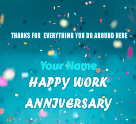 Work Anniversary to Boss
