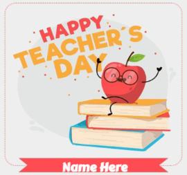 Happy Teacher Day Card