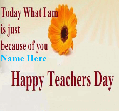 Teachers Day Admiration Quote for Teacher