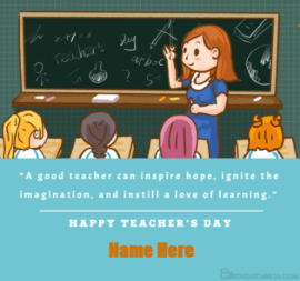 Teachers Day Inspiration Quote