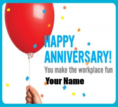 Happy Work Anniversary Employ