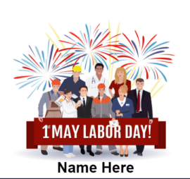 1st May Celebrate Labor day