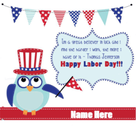 Happy Labor day to Everyone