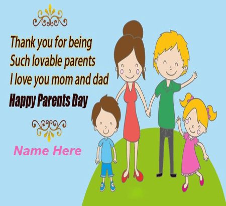 Parents Day Wishes To Parents