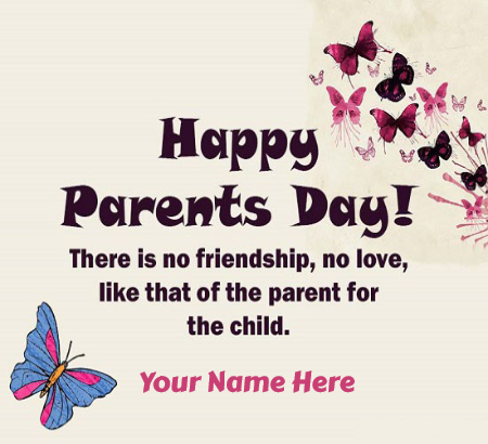 Happy Parents Day Greeting