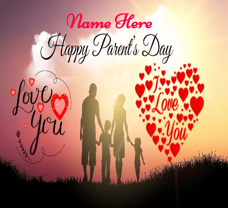Love you Parents on Parents Day