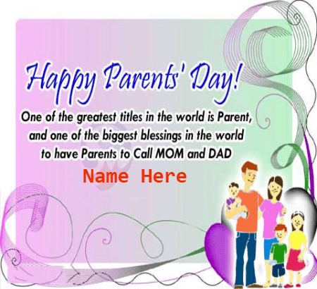 Parents Day Greatest Title in the World