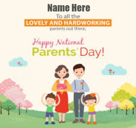 National Happy Parents Day