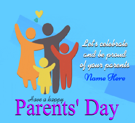 Happy Parents day Gif