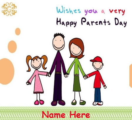 Very Happy Parents Day Card