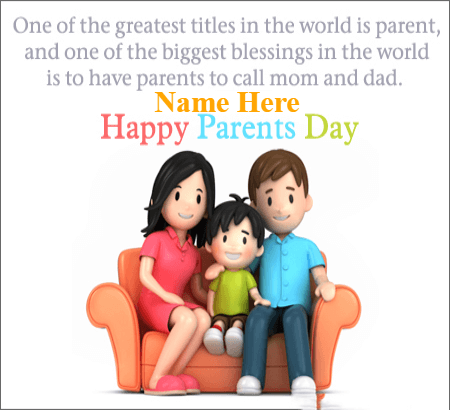 Parents Day Family Always Together