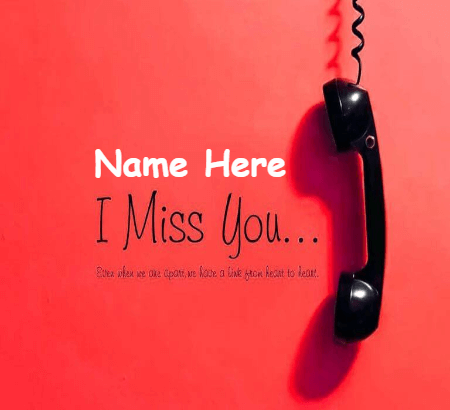 Missing You Soo Much
