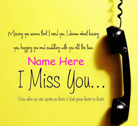 Miss You Caring Quote