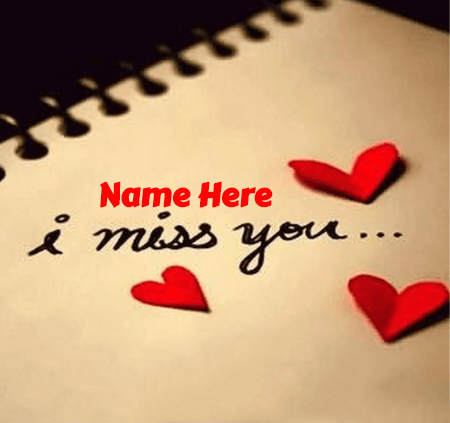 Miss You My Dear Person
