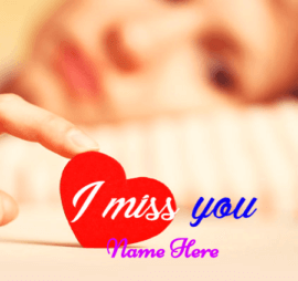 I Am Missing You My Loved One