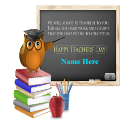 Teachers Day Greetings Card