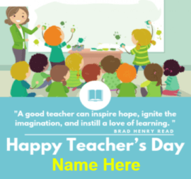 Teachers Day Inspiring Quote for Best Teacher