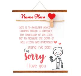 I Am Sorry I Love You