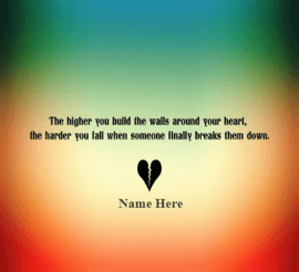 Heart Brake Quote