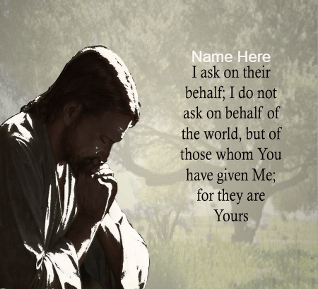 Pray To Their Behalf