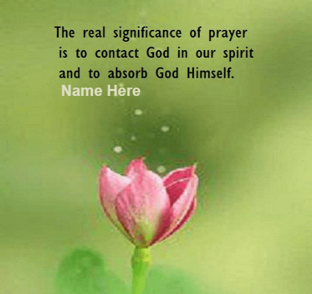 Significance of God